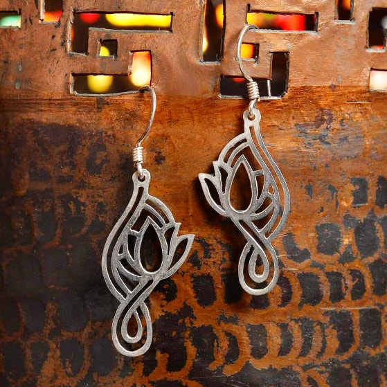 Sterling Silver Earrings - Jaya