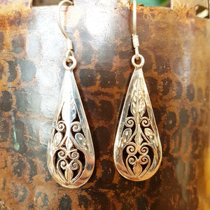 Sterling Silver Earrings - Aisha