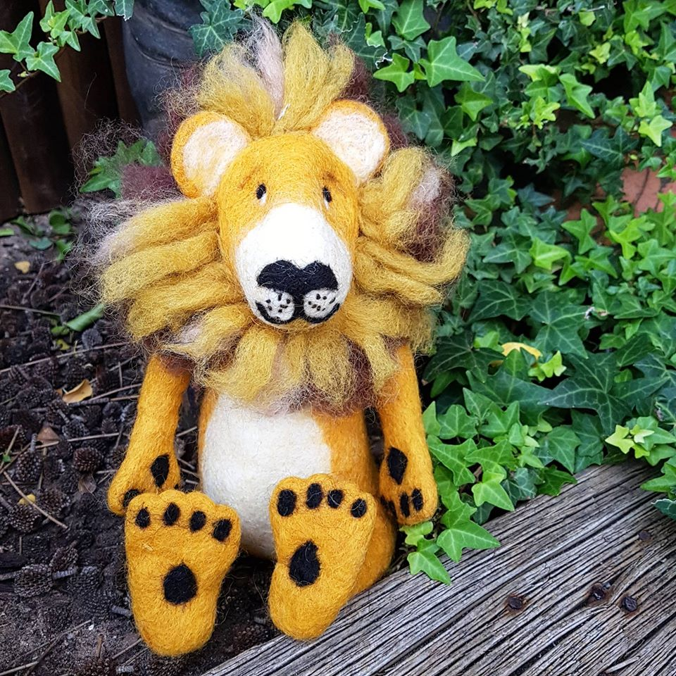 Lion ~ Pure Wool Felt