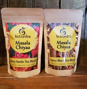 Masala Chiyaa ~ Spicy Black Tea Blend 120g + Spicy Nettle Blend 120g