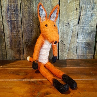 Mr Fox ~ Pure Wool Felt