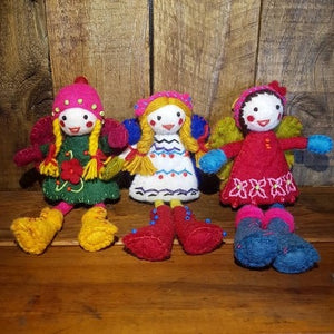 Fairy Friends ~ Pure Wool Felt