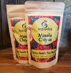 Masala Chiyaa ~ Spicy Nettle Tea Blend 120g Twin Pack