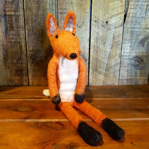 Fox Family ~ Pure Wool Felt