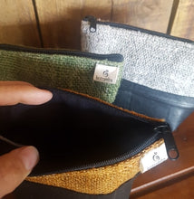 Hemp + Recycled Rubber Purse