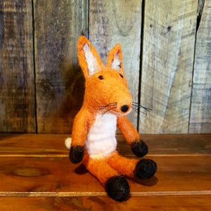 Baby Fox ~ Pure Wool Felt