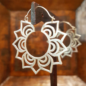 Sterling Silver Earrings - Rangoli