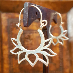 Sterling Silver Earrings - Akula