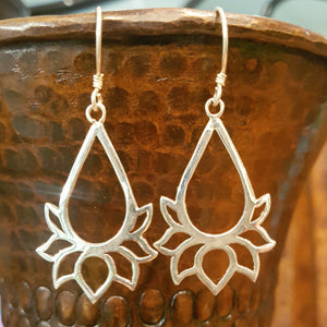 Sterling Silver Earrings - Anushna