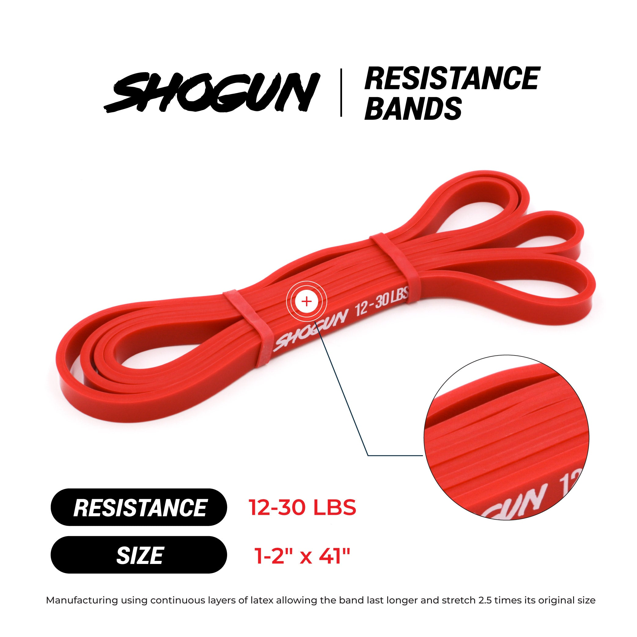 Shogun Sports Resistance Bands