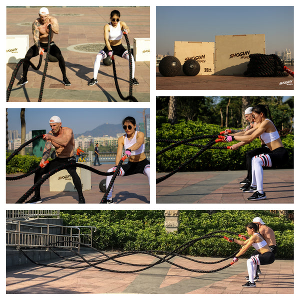 Shogun Sports Battle Ropes - Shogun Sports