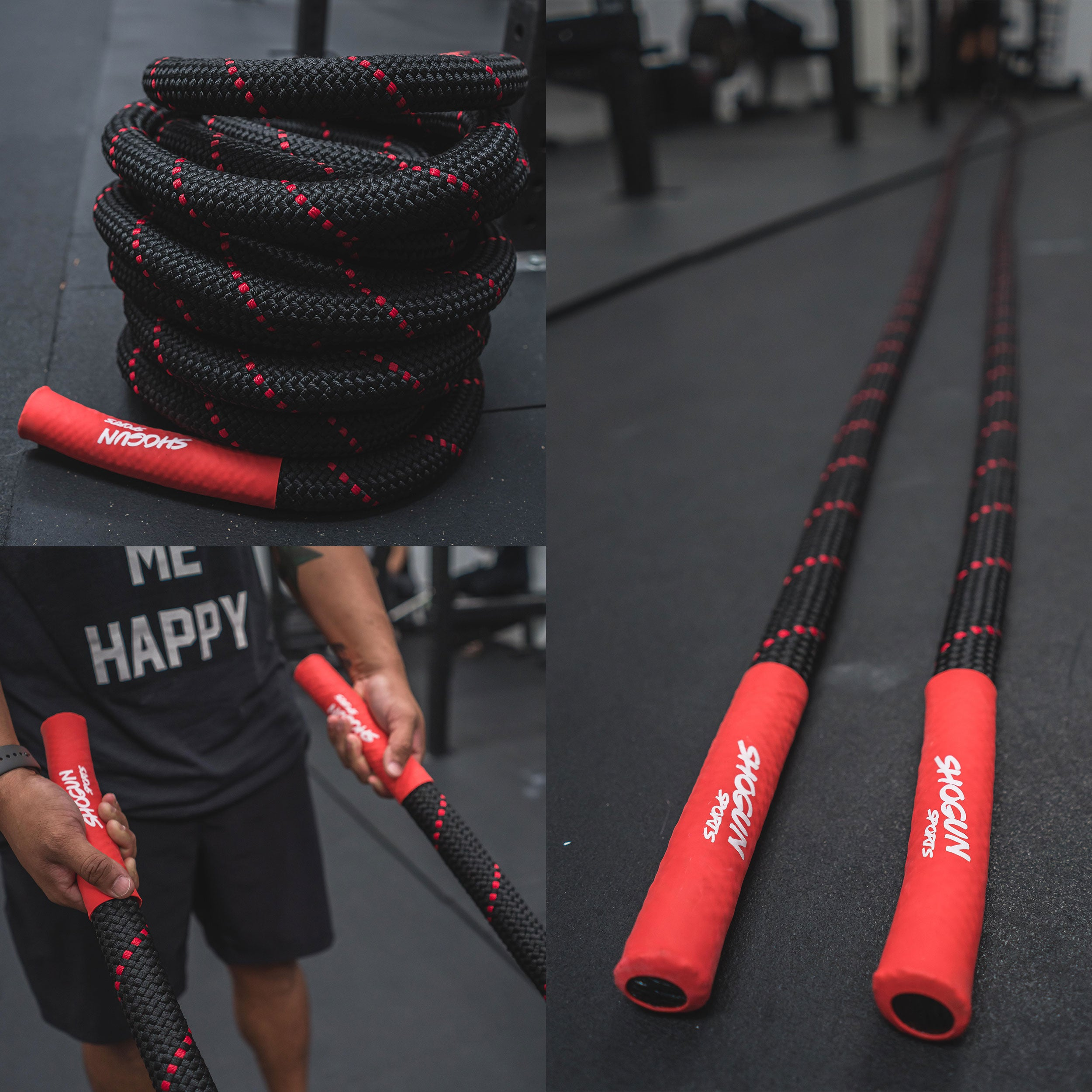 Shogun Sports Braided Battle Ropes