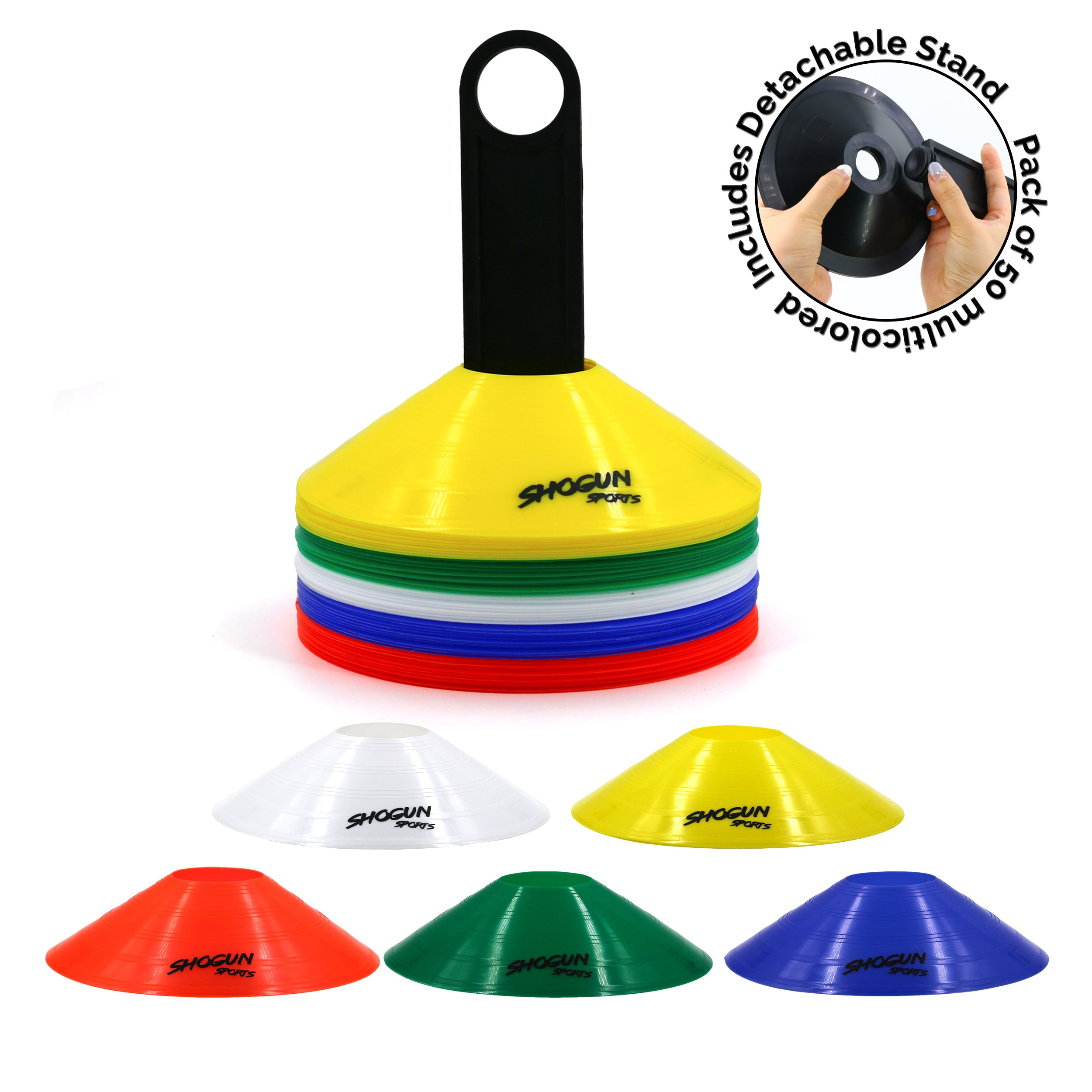 Shogun Sports Agility Cones - Shogun Sports