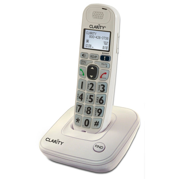 Clarity D704 Big Button Amplified Cordless Phone - harc.com