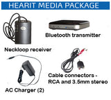HearIt Media Bluetooth TV and Cell Phone Amplification System - harc.com