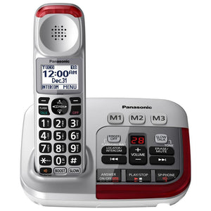 Panasonic Amplified Cordless Telephone with  Digital Answering Machine KX-TGM450S - harc.com