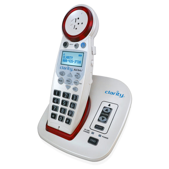 Clarity XLC3.4+ Cordless Amplified Phone - harc.com