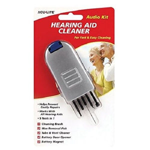 Audio Kit Hearing Aid Cleaning Tool