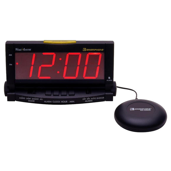 Wake Assure Clock with Bedshaker - harc.com