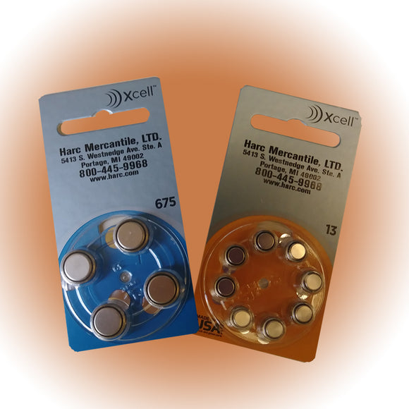 Hearing Aid Batteries Raovac with HARC Label - harc.com