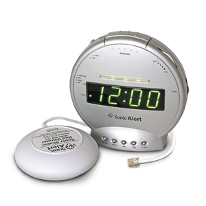 Round Clock and Telephone Signaler w/Vibrator - harc.com