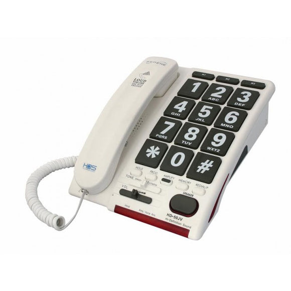 HD-50JV Amplified Phone w/Voice Activated Answering