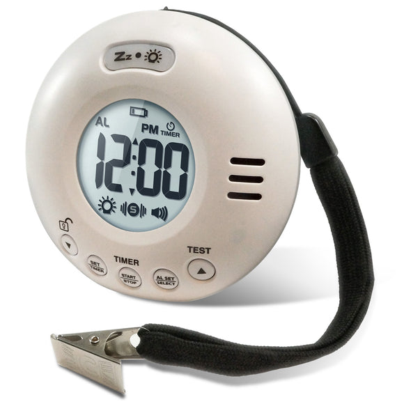 JOLT Battery Operated Vibrating Clock - Timer - harc.com