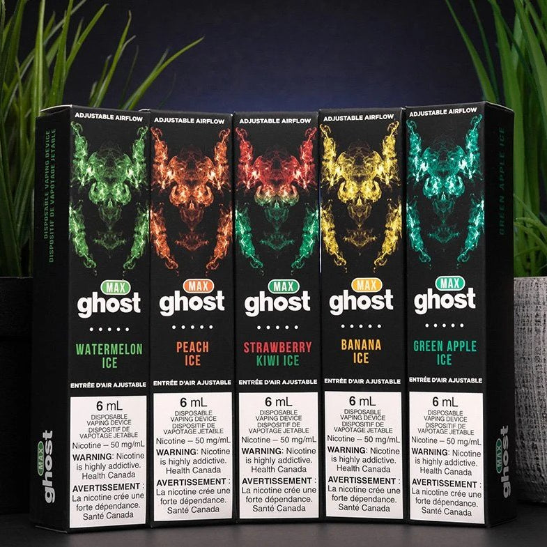Ghost Max Disposable Vape Pen 2000 puff Yaletown Vancouver,