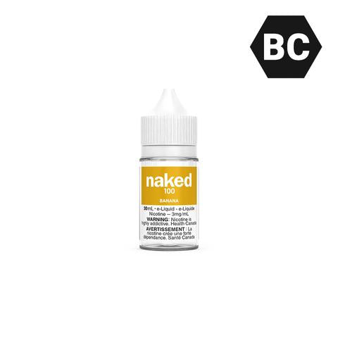 NAKED 100 - BANANA (30mL)