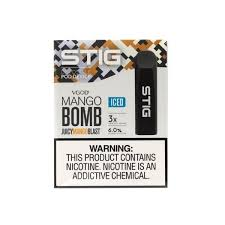 Stig Disposable eCig - Iced Mango Bomb (3 pack)