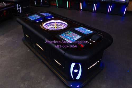 Roulette Machine 4 Players - Game