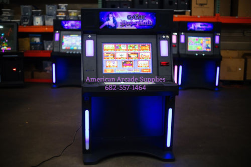Stand Up Led Gaming Cabinet - Game Machine