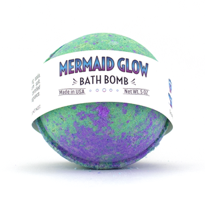 Bath Bomb - Mermaid Glow Glitter