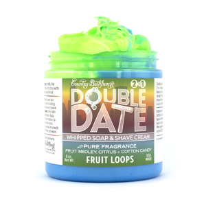 Double Date Whipped Soap and Shave - Fruit Loops