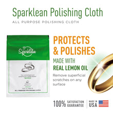 Sparklean - Cleaning Kit Bundle 16 oz Spray & Polishing Cloth - Sparklean