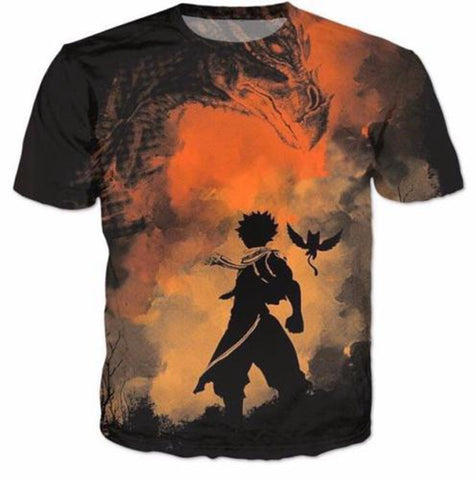Fairy Tail Silhouette T-Shirt