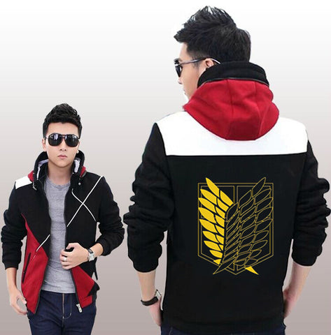 Attack On Titan Scouting Legion Logo Hooded Jacket