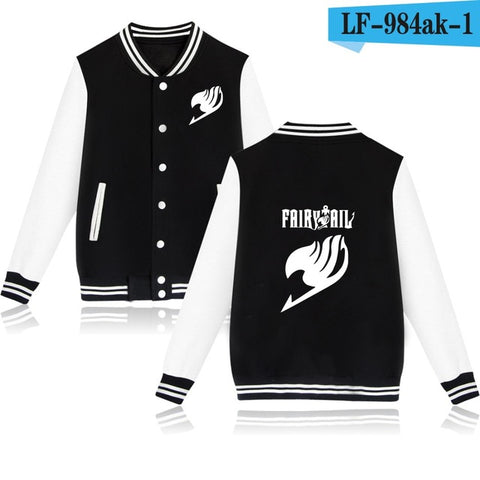 Fairy Tail Premium Baseball Jacket