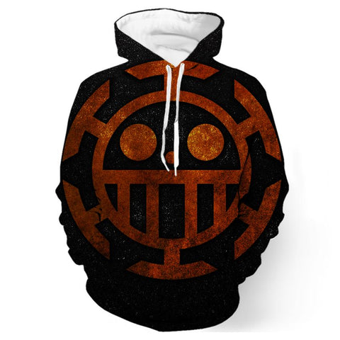 One Piece Heart Pirates Hoodie