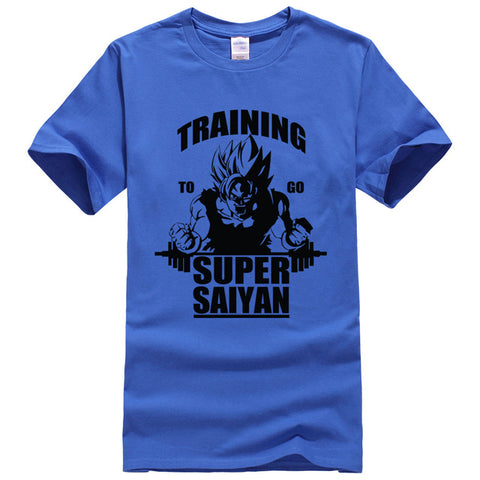 Dragon Ball Z Training To Go Super Saiyan T-Shirt