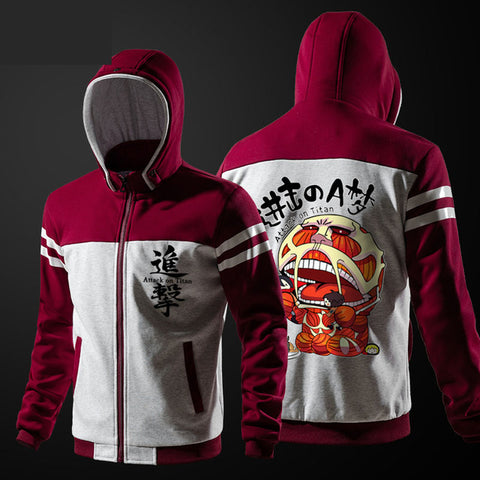 Attack On Titan Hooded Jacket
