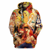 One Piece Character Hoodie