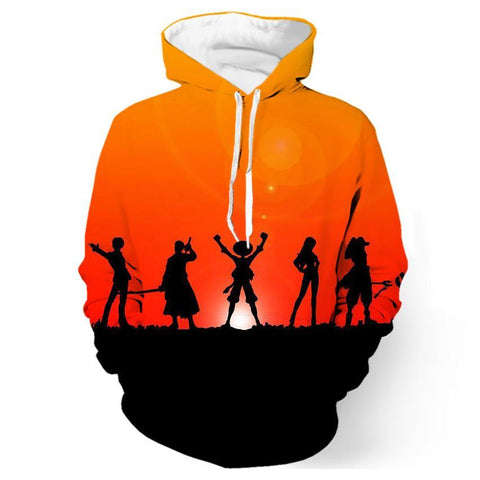 One Piece Sunset Hoodie