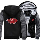 Naruto Akatsuki Cloud Hooded Jacket