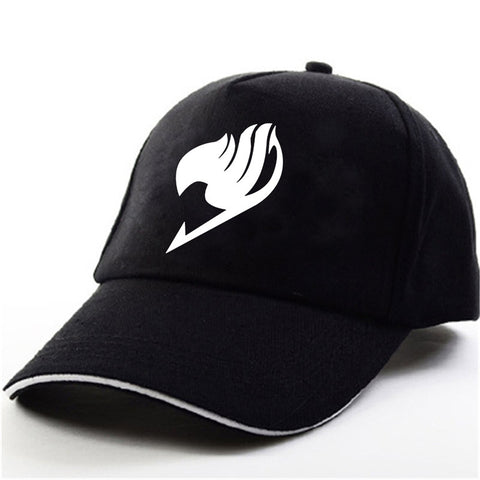 Fairy Tail Logo Black Premium Baseball Cap