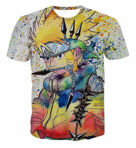 Naruto Rainbow T-Shirt