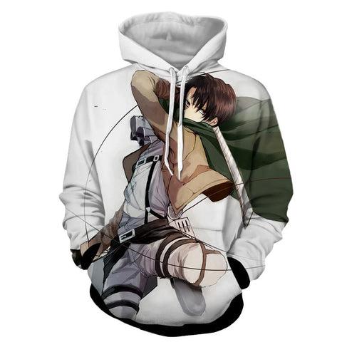 Attack On Titan Rivai Hoodie
