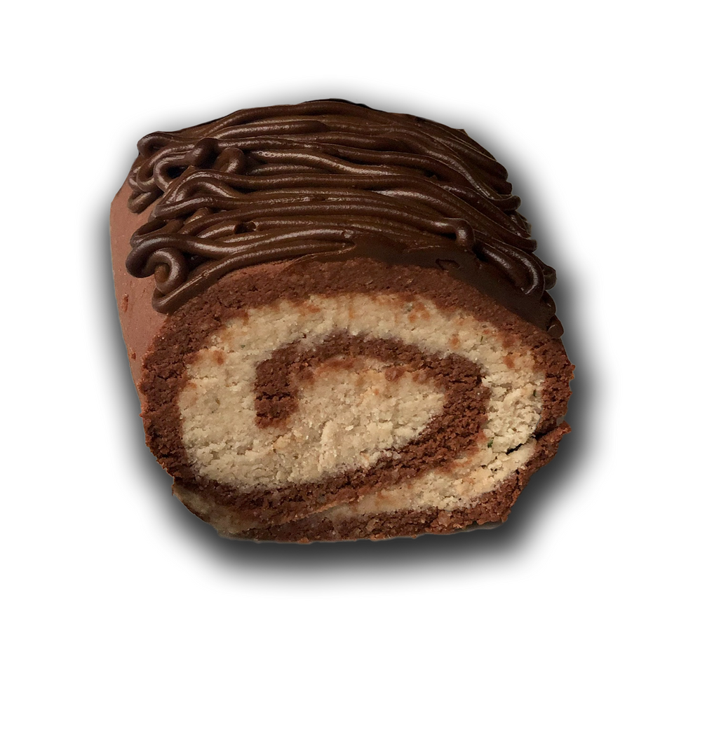 Naked Sweez: No-bake Swiss Roll