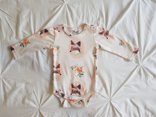 Spring Fox Long Sleeve Onesie