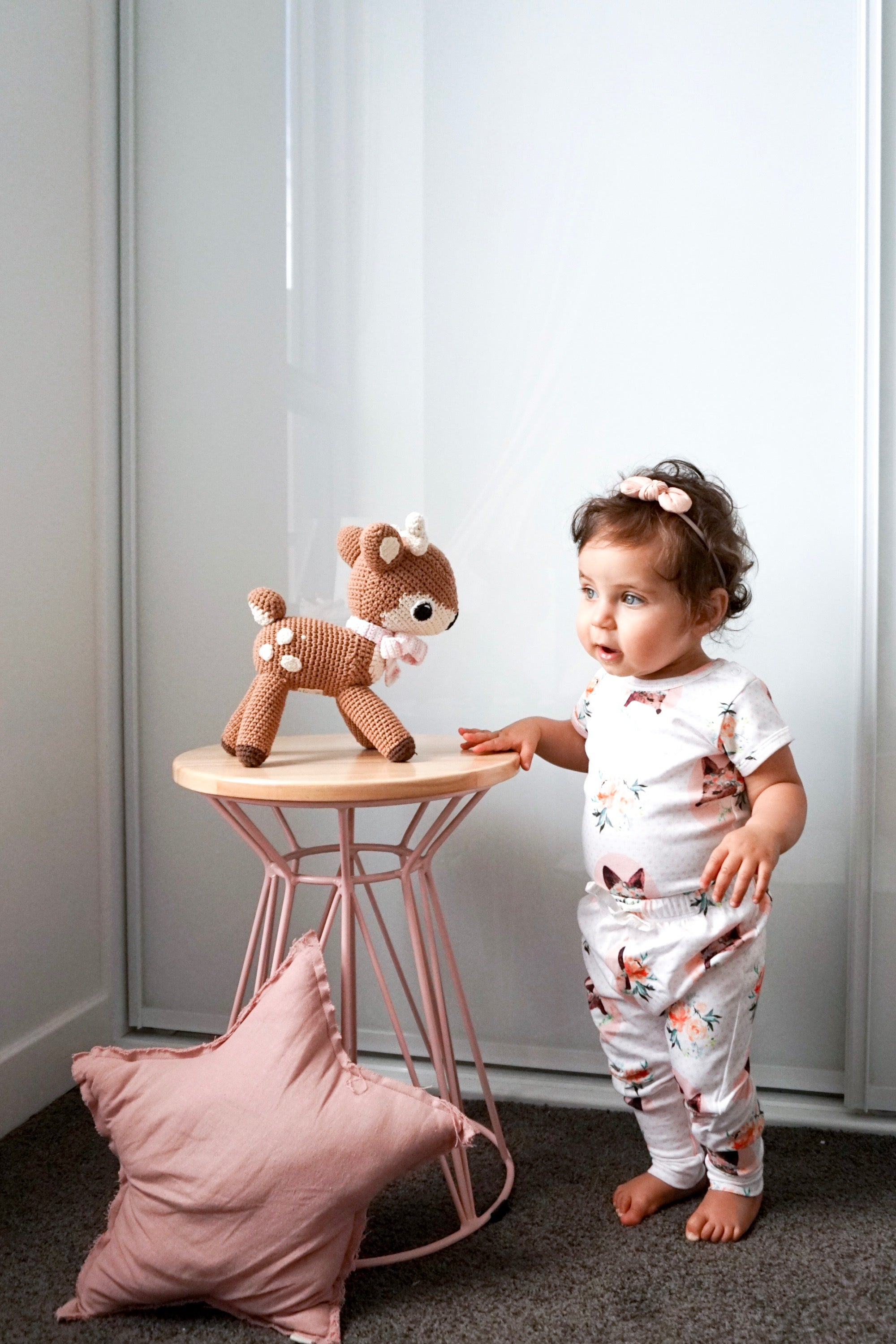 Spring Fox Short Sleeve Onesie